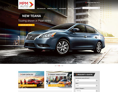 MPM Auto - Company Profile Website