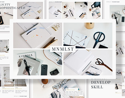 [Free Presentation] MNMLST - Presentation Template