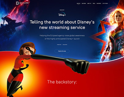 Disney + / Digitaland Case