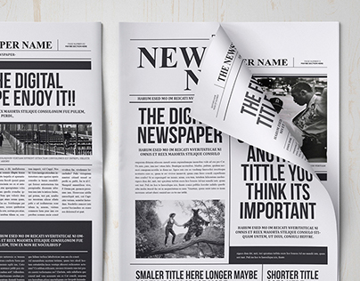 Classy Newspaper Indesign Template On Behance