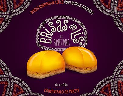 Brisas do Lis de Sant'ana. Portuguese egg pastry