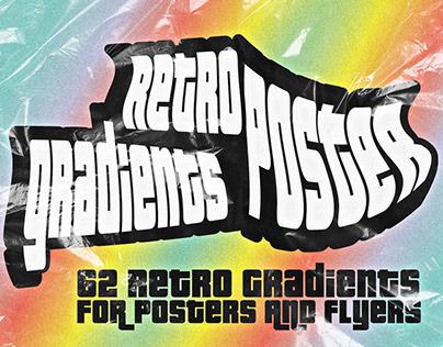 Retro Poster Gradient Backgrounds