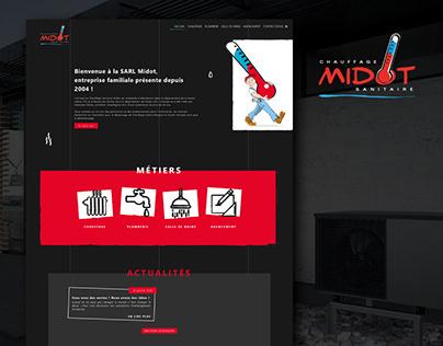 Chauffage Midot - website