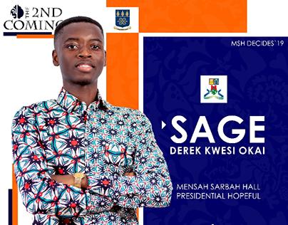 SAGE JCR Presidential Campaign Fliers