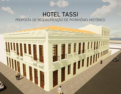 HOTEL TASSI - Restauro Arquitetônico e Urbano