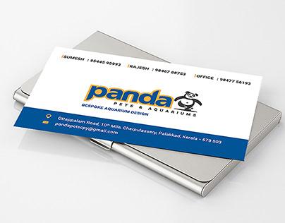 Panda Pets & Aquariums_Business Card