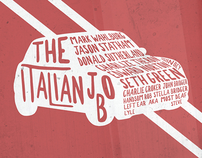 The Italian Job Illustration