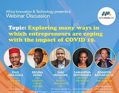 Africa Innovation and Technology Flyer