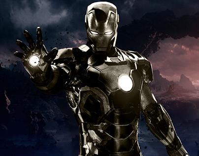Iron Man Website Concept