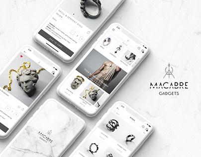 Macabre Gadgets App Design/App Presentation