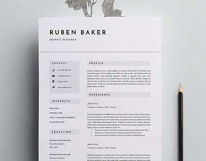Some of our favorite CV templates this week