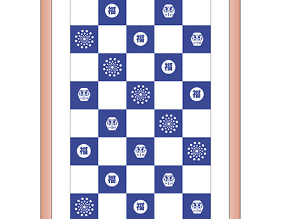 Japanese Tenugui Towel Design