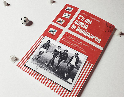 Book Cover Design - C'e Del Calcio In Danimarca