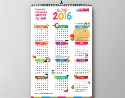 Superkids Indonesia Calendar