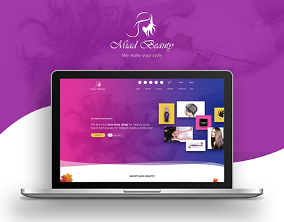 Landing page design - Wig & Beauty