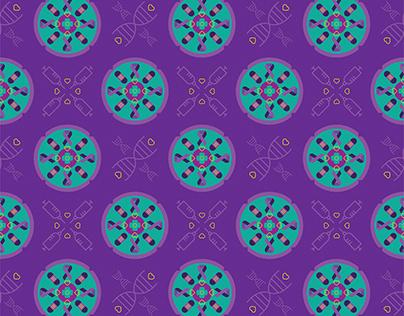 Textile Print Design - Cancer Awareness