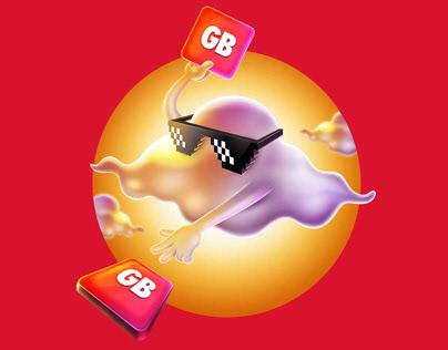 Vodafone Freezone - Branding