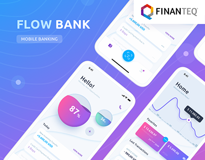 Flow Bank - Mobile App UX