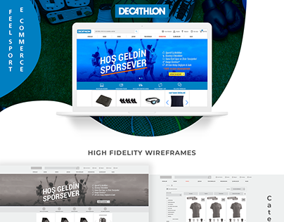 Decathlon Turkey E Commerce Website
