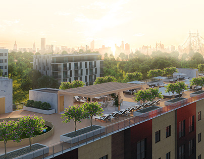 NEW JERSEY: residential complex   CGI