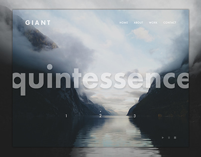 Giant - Landing page design
