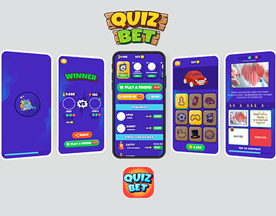 QuizBet Game UI