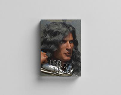 Book cover design. Illustration domination