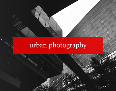 Urban Photography. Promotional video production.