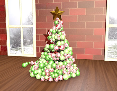 C4D Holiday Practice