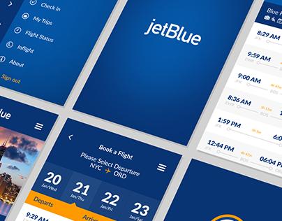 JetBlue Airlines - New APP Design (TEASER)