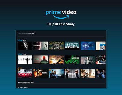 Prime Video   UX UI Case Study