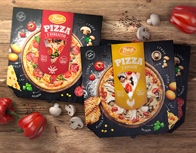VAM. Pizza package design