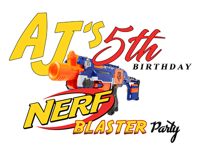 Nerf Theme T Shirt Design