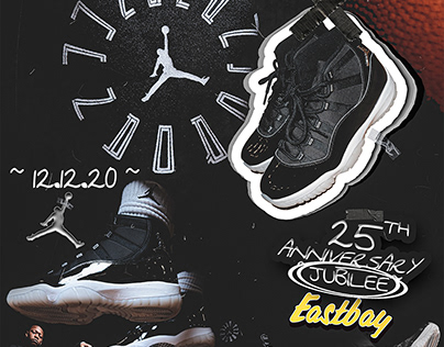 "Eastbay Holiday Jordan Campaign - Retro 11 ""Jubilee"""