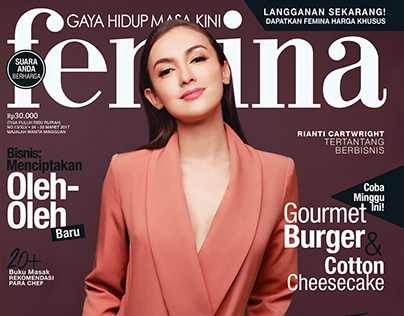 Femina Magazine - Rianti