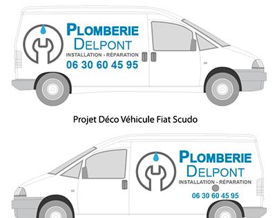 Projet personnel - Créa logo-carte de visite-habillage