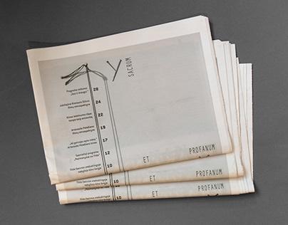 Newspaper design for VDFF II