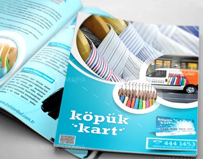 Köpük Kart Brochure and ID Card