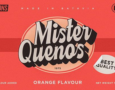 Mister Quenos - Vintage Script Font