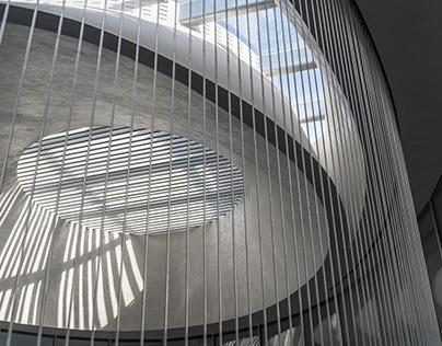 Jinmao Intelligence & Science City Exhibition Pavilion
