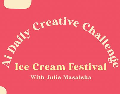 Ice Cream Festival Ai DCC with Julia Masalska