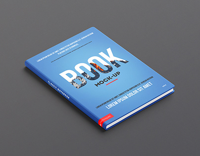 Freebie PSD: Sketchbook / Book Mock-up