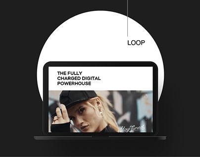 LOOP - creative digital agency (redesign)