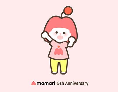 キャラクター ママリちゃん