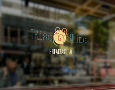 Rise & Shine Cafe Small Business Brand