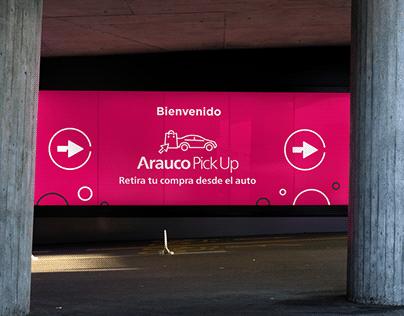 Arauco Pick Up®   Branding