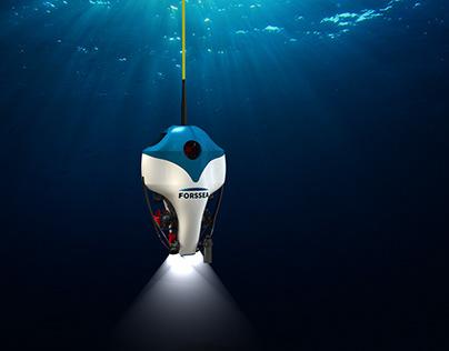 An underwater drone for FORSSEA Robotics