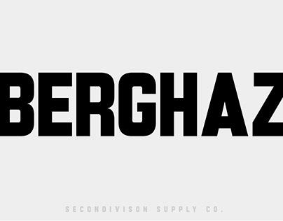 BERGHAZ FONT
