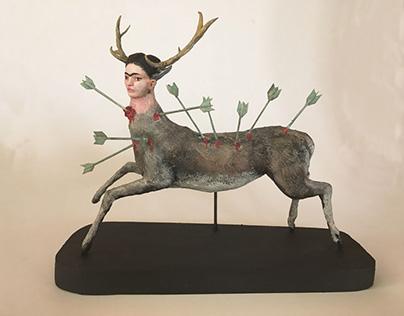 Frida Sculpture Tribute