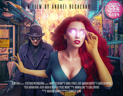 X-WOMAN Comic Movie Poster - Photoshop Manipulation